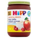 HIPP Owoce&Zboże Maliny i jabłka z kleikiem ryżowym BIO - po 5 miesiącu 190g