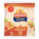 MISSION Wraps Tortilla pszenna z siemieniem lnianym 6szt 370g