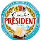 PRESIDENT Camembert Cheese Light 120 g