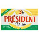 PRESIDENT Masło solone 200g