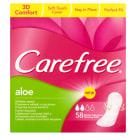 CAREFREE Wkładki higieniczne Aloe 58 szt 1szt