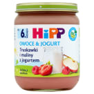 HIPP Owoce&Jogurt Strawberries and Raspberries - after 6 months 160 g