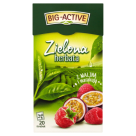 BIG-ACTIVE Green Tea with raspberry 34 g