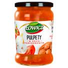 ŁOWICZ Pulpety w sosie pomidorowym 580g