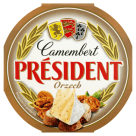PRESIDENT Camembert Cheese with nuts 120 g