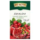 BIG-ACTIVE Herbata owocowa Yerba Mate, żurawina, granat 20 torebek 45g