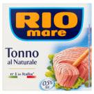 RIO MARE Natura Tuńczyk w sosie własnym 160g