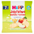 HIPP Apple rice wafers BIO - after 7 months 30 g