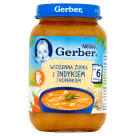 GERBER Kuchnia Polska Zupka Vegetables soup with turkey and chives - after 6 months 190 g