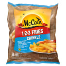MCCAIN 1.2.3 Crenulated Fries 750 g