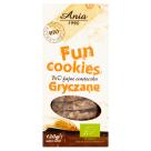ANIA Fun Cookies Ciasteczka gryczane BIO 120g