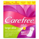CAREFREE PLUS Wkładki higieniczne Large Aloe 48 szt 1szt