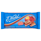 WEDEL Milk chocolate with peach and cranberry filling 100 g