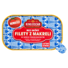 KING OSCAR Filety z makreli bez skóry w sosie pomidorowym 110g