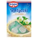 DR. OETKER Dekoracje do ciast Różyczki białe 20g