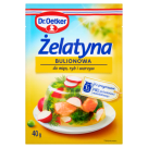 DR. OETKER Gelatin with broth and vegetables 40 g