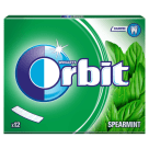ORBIT Spearmint Guma do żucia 12 listków 31 g