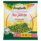 BONDUELLE Przygotowane na parze Groszek zielony mrożony 400g