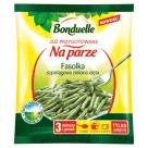 BONDUELLE Przygotowane na parze Fasolka szparagowa zielona cięta mrożona 400g