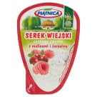PIĄTNICA Cottage cheese with raspberry and cranberry 150 g