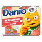 DANONE DANIO Serek truskawkowy 4x140g 560g