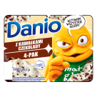 DANONE Danio extra Homogenized cheese with chocolate (4 pieces) 520 g