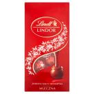 LINDT Lindor Milk Bag Praliny z delikatnym mlecznym nadzieniem 100g