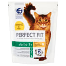 PERFECT FIT STERILE 1+ Complete Dry Food for Adult Cats - Rich in Chicken 750 g