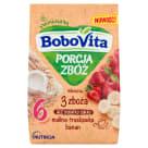 BOBOVITA Porcja Zbóż Kaszka mleczna 3 Zboża gruszkowa - po 6 miesiącu 210g