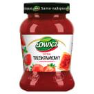 ŁOWICZ Dżem truskawkowy niskosłodzony 450g