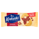 KRAKUSKI Biscuits with sugar and chocolate milk 155 g
