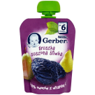 GERBER DESEREK Pear dried plum (tube) - after 6 months 90 g