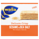 WASA Delicate Thin Crisp Crispy bread with seasame and sea salt 190 g