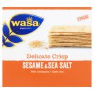 WASA Delicate Thin Crisp Crispy bread with seasame and sea salt 190g