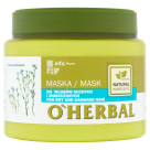O`HERBAL Mask for dry and damaged hair with the extract of flax 500 ml