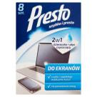 PRESTO Presto screens for computers  8 1pc