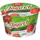 SVALYA PEŁNE SŁOŃCA Jogurt z truskawkami EKO 200g