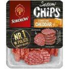 SOKOŁÓW Salami Chips Chipsy salami o samku ser cheddar 60g