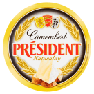 PRESIDENT Plain Camembert Cheese 120 g