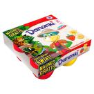 DANONE Danonki MEGA Strawberry and Banana Fromage 4x80g 360g