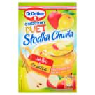 DR. OETKER Słodka Chwila Kisiel jabłkowo-gruszkowy z kawałkami owoców 32g