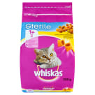 WHISKAS STERILE 1+ Complete dry food for cats with chicken 300 g