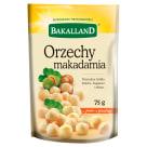 BAKALLAND Orzechy macadamia 75g