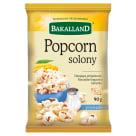 BAKALLAND Popcorn solony 90g