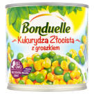 BONDUELLE Bonduelle Golden Corn with peas 340 g