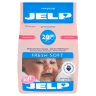JELP Fresh Soft 2w1 Washing powder for white clothes, underwear and nappy 1.6 kg