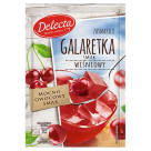 DELECTA Galaretka smak wiśniowy 75g