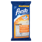 PRESTO Wet wipes for cleaning the kitchen 72 pcs 1pc