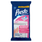 PRESTO Wet wipes for cleaning various surfaces 72 pcs 1pc