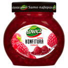 ŁOWICZ Jam extra with raspberries 240 g